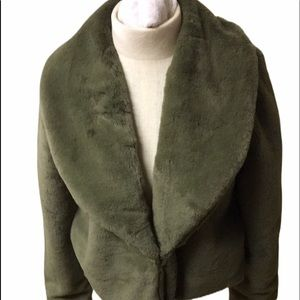 New With Tags Rampage Olive Woobie Jacket